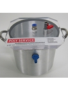 RTM Vacuüm overloopvat 9 liter