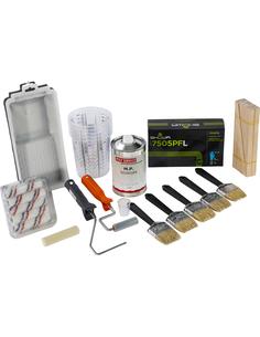 Epoxypakket met hulpmaterialen Small
