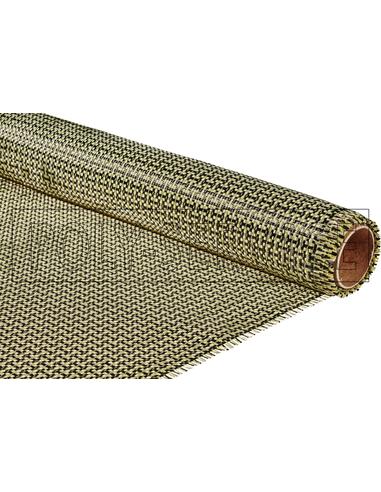 Koolstof/Aramide weefsel 165 gr/m²
