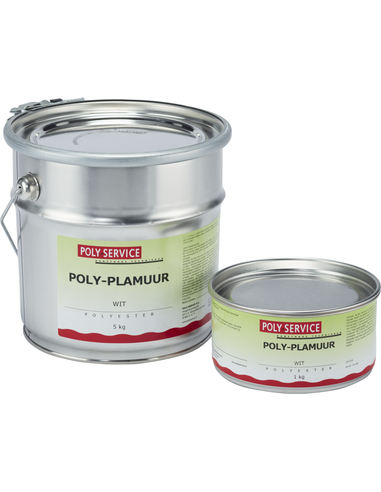 Polyesterplamuur set