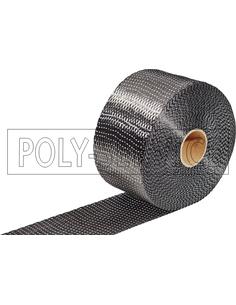 UD koolstofband 2,5 cm 340 gr/m²