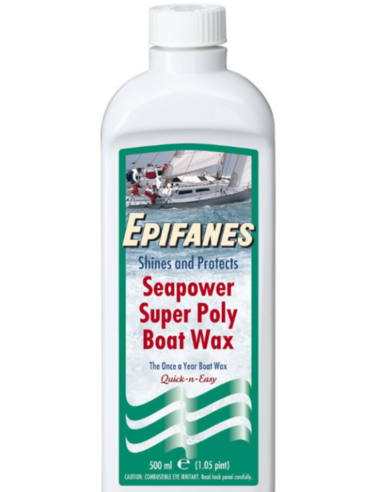 Epifanes Seapower Poly Boat Wax