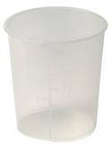 Mengbeker kunststof 150 ml